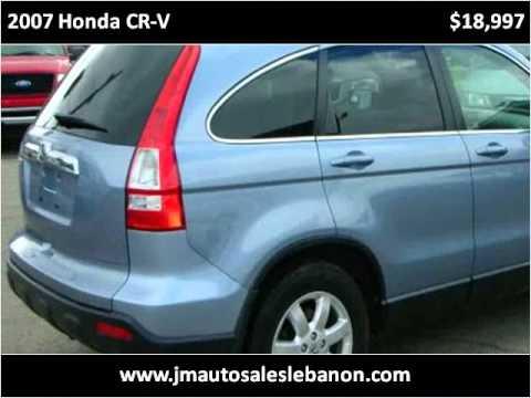 2007 Honda CR-V Used Cars Lebanon IN