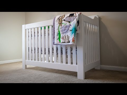 How to Build a Crib for the Nursery! | DIY Woodworking