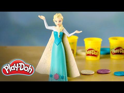 Play-Doh | 'Frozen Enchanted Ice Palace Featuring Elsa' Unboxing Original Digital Short