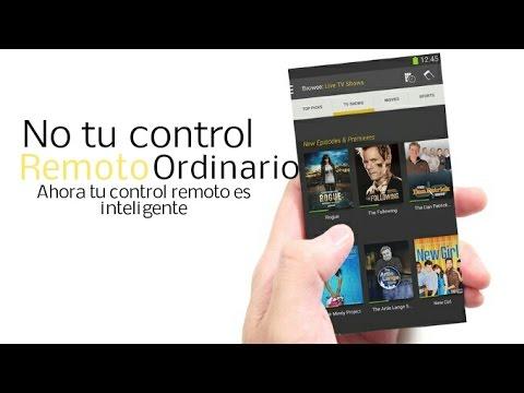 Control Remoto inteligente para TV desde tu iPhone y Android