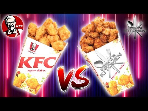 KFC POPCORN CHICKEN vs HOMEMADE - Finger Licking Good Recipe!