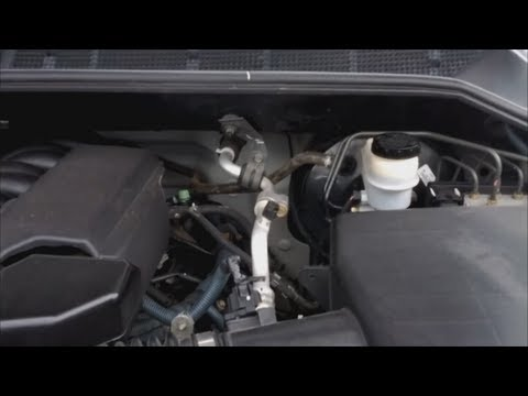 How To Seafoam Nissan Titan 5.6L V8