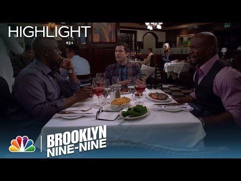 The Guys Have Dinner Without Charles | Season 5 Ep. 19 | BROOKLYN NINE-NINE