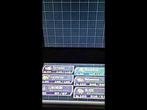 Pokemon White 2 : The Reveal Glass