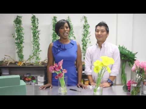 HOW-TO-VIDEO: FLOWER ARRANGEMENT METHODS & EQUIPMENT