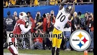 Pittsburgh Steelers | Game Winning Plays (Since 2008)