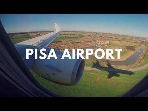 Landing in Pisa International Airport | Tuscany