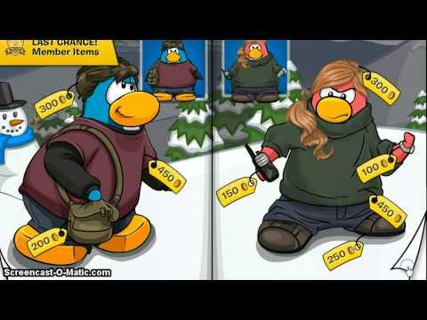 Club Penguin:Clothing + Igloo Catalogs January 2013