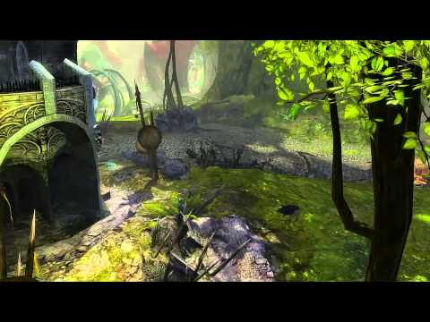 Guild Wars 2: Caledon Forest Vista - Trader's Green
