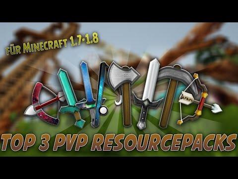 Top 3 Minecraft PvP Resource Packs (2) [Minecraft 1.7/1.8 Texture Packs] - 2015 [HD]