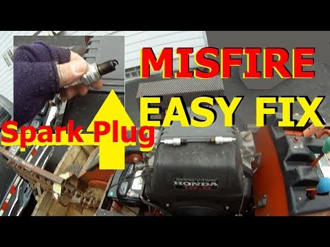 DiY Clean CARBON SPark PLUGs CURE ENGINE MISFIRE in 1 MINUTE