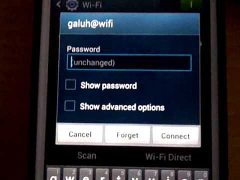 Samsung Galaxy S3 | How Fix Error Wifi Samsung Galaxy S3