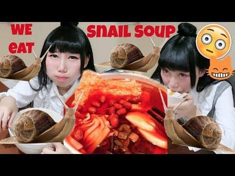 Extremely Sour River Snail Rice Noodle Challenge With Husband! Chinese Popular 螺狮粉 Luoshifen