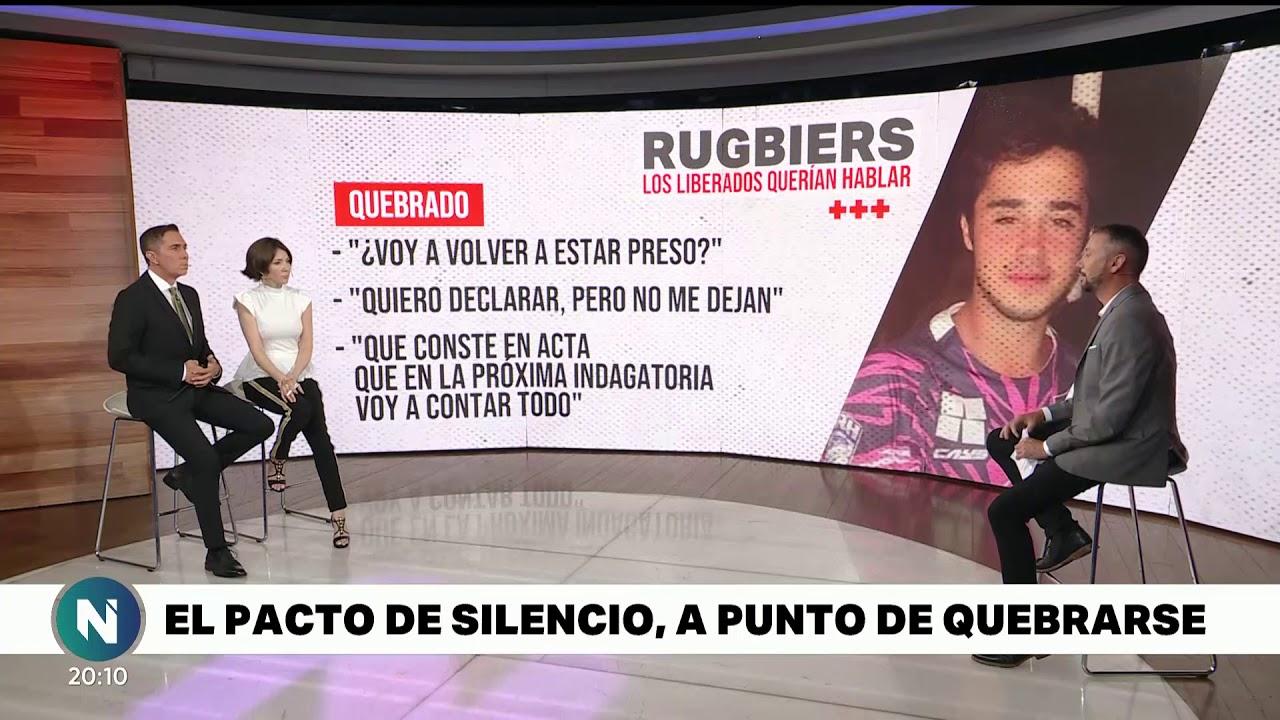 RUGBIERS liberados QUISIERON ROMPER el PACTO del SILENCIO - Telefe Noticias
