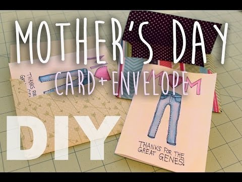♡ DIY Mother's Day Card + Envelope! ♡ | ArtsyPaints