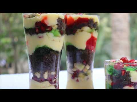 trifle pudding / layered dessert