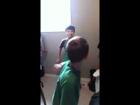 Fus Ro Dah slapped by the sock! XD