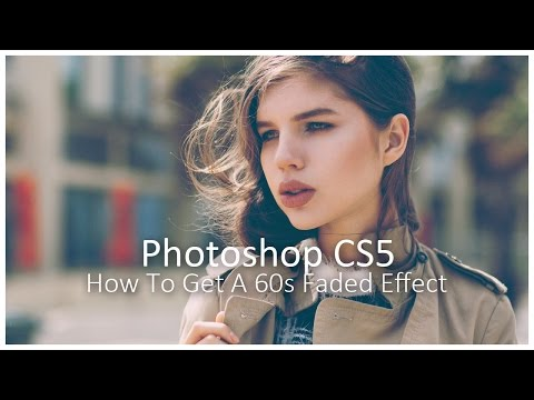 How to Get a Vintage Effect in Photoshop || Retro Colour Grading Tutorial