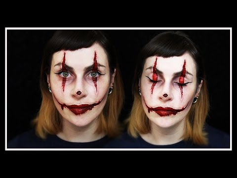 Carved Clown HALLOWEEN Makeup Tutorial | LetzMakeup