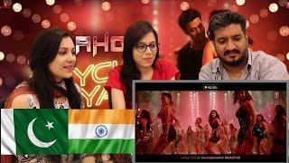 PAKISTAN REACTION | Psycho Saiyaan | Saaho | HONEST REVIEW