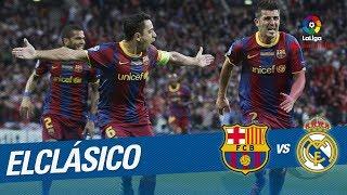 ElClásico - Resumen de FC Barcelona vs Real Madrid (5-0) 2010/2011