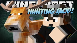 Minecraft | HUNTING MOD (Epic Guns, Traps and Deer!!) | Mod Showcase