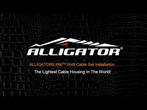 ALLIGATORILINK DIY Brake Cable Kit Installation