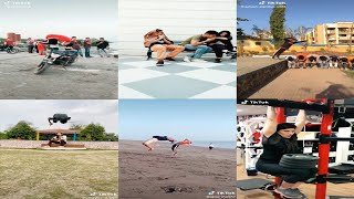 Tiktok Sport Lover Amazing Stunts And New Mix Funny Clips Compilation Part 2 2019