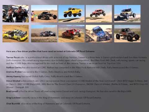 Advertising & Sponsorship Proposal at Colorado Off Road Extreme