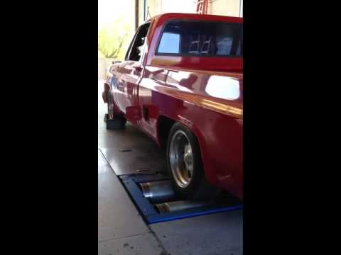Failed Emissions Test on the 81 Twin Turbo Chevy C10 Project