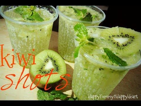 Kiwi shots/ How to Make kiwi Drink/किवी शर्बत