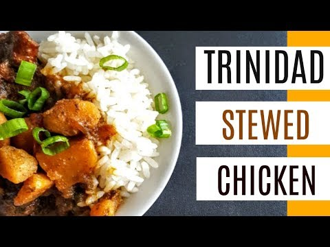 Trinidad Stew Chicken with Potatoes