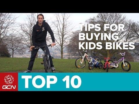 GCN's Top Ten Tips For Buying Kids Bikes