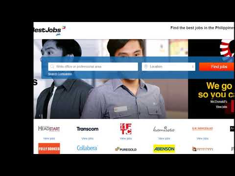 Top  Sites For Filipinos Searching For Jobs Abroad