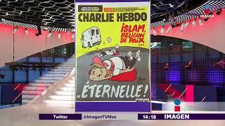 Portada de Charlie Hebdo promueve miedo a musulmanes | Noticias con Yuriria Sierra