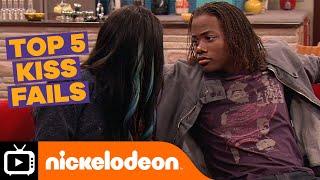 Top 5 Kiss Fails | Nickelodeon UK