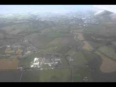 Landing at Derry Airport