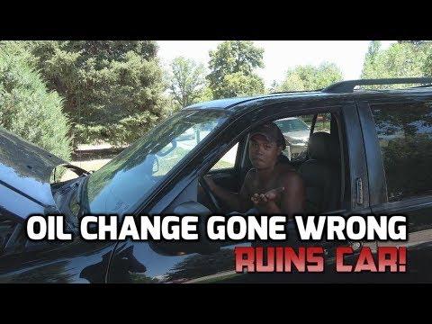 Oil change ruins car! Massive DIY Fail!
