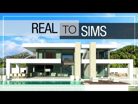 REAL TO SIMS | #2 | MODERN LUXURY HOUSE | NO CC + DOWNLOAD LINK