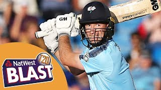 Records Broken As Yorkshire And Lyth Hit Highest Ever T20 Blast Scores - Yorks v Northants 2017