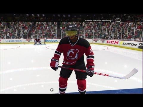 NHL 13: Bearded Lady Glitch
