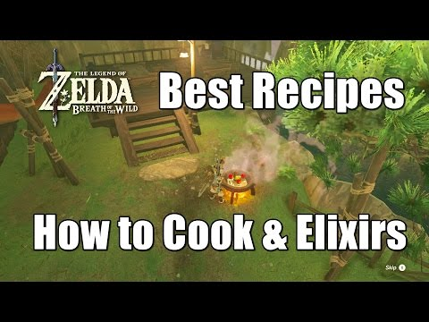 Zelda Breath of the Wild Best Recipes - How to Cook Strong Foods and Elixirs