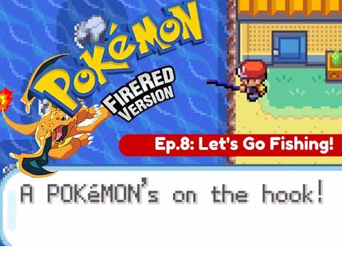 Pokemon Fire Red Randomizer Nuzlocke || Episode 8 - Let's Go Fishing!