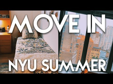 MOVE IN VLOG: Summer in NYC! (NYU Summer Housing) | Lottie Smalley