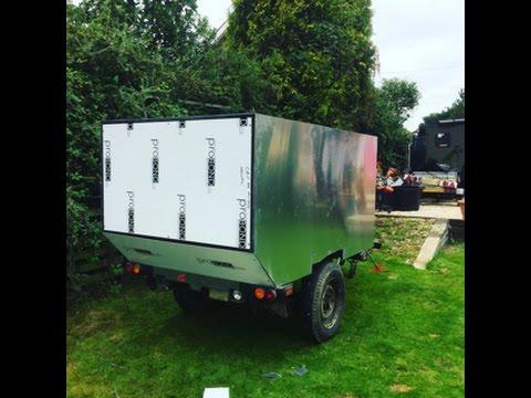 short update on off road camper trailer mk2