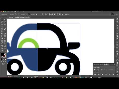 Vectorising a Logo Adobe illustrator 2017