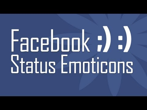 Use new Facebook Status Emoticons