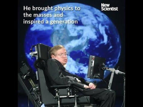 Stephen Hawking: a physics superstar
