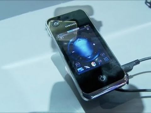 FIRST LOOK: iPhone-Style Touch Remote! - Samsung 7 Series, 8 Series High-End TVs and 3D Camcorders