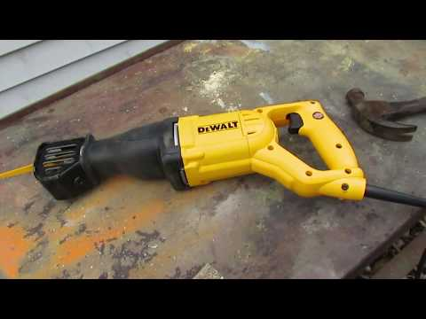 DeWalt SawZaw DWE304 unboxing and test with nails